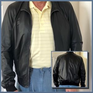 8456d4c95 Gucci. NWT Authentic GUCCI Leather Bomber